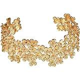 FOCALOOK Stainless Steel Infinity Endless Love Symbol Charm Adjustable Bracelet Cuff Bangles for Women dZbOcRJ
