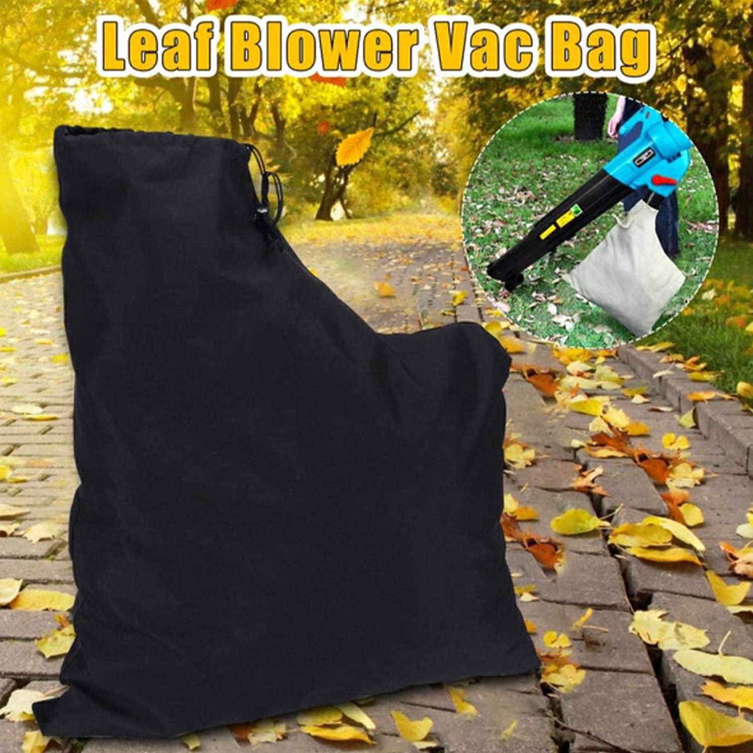 TeeTree Leaf Blower Vacuum Bag for Garden Dust Collection ...
