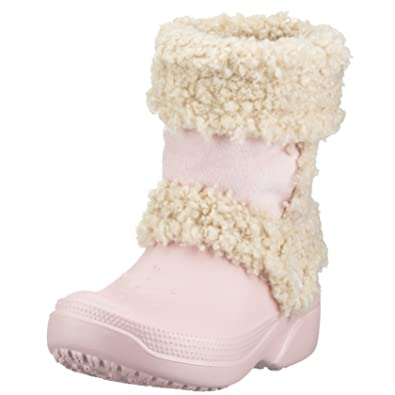 95e25508a689c Crocs Girls Nadia Shearling Boot  Amazon.co.uk  Shoes   Bags