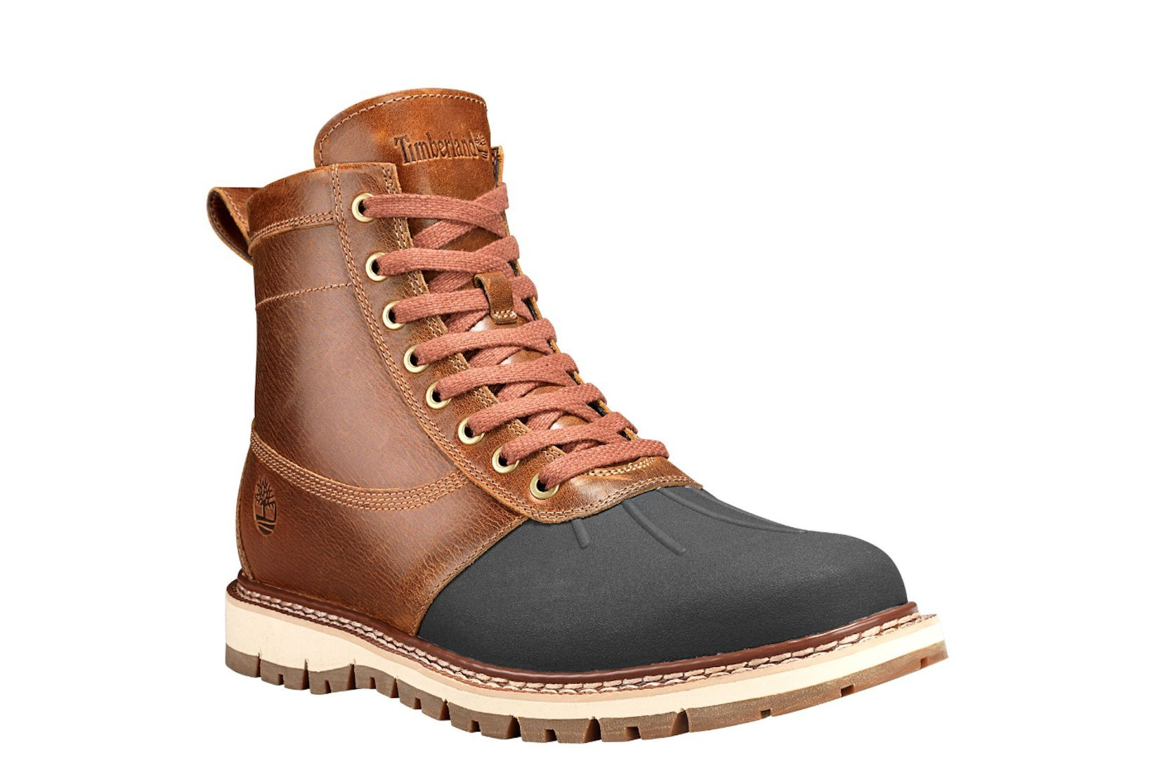 Timberland Men's Britton Hill Moc-Toe Waterproof Boot (9.5 D(M) US, Brown)