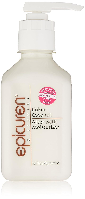 Epicuren Discovery After Bath Body Moisturizer, Kukui Coconut, 2 Fl Oz