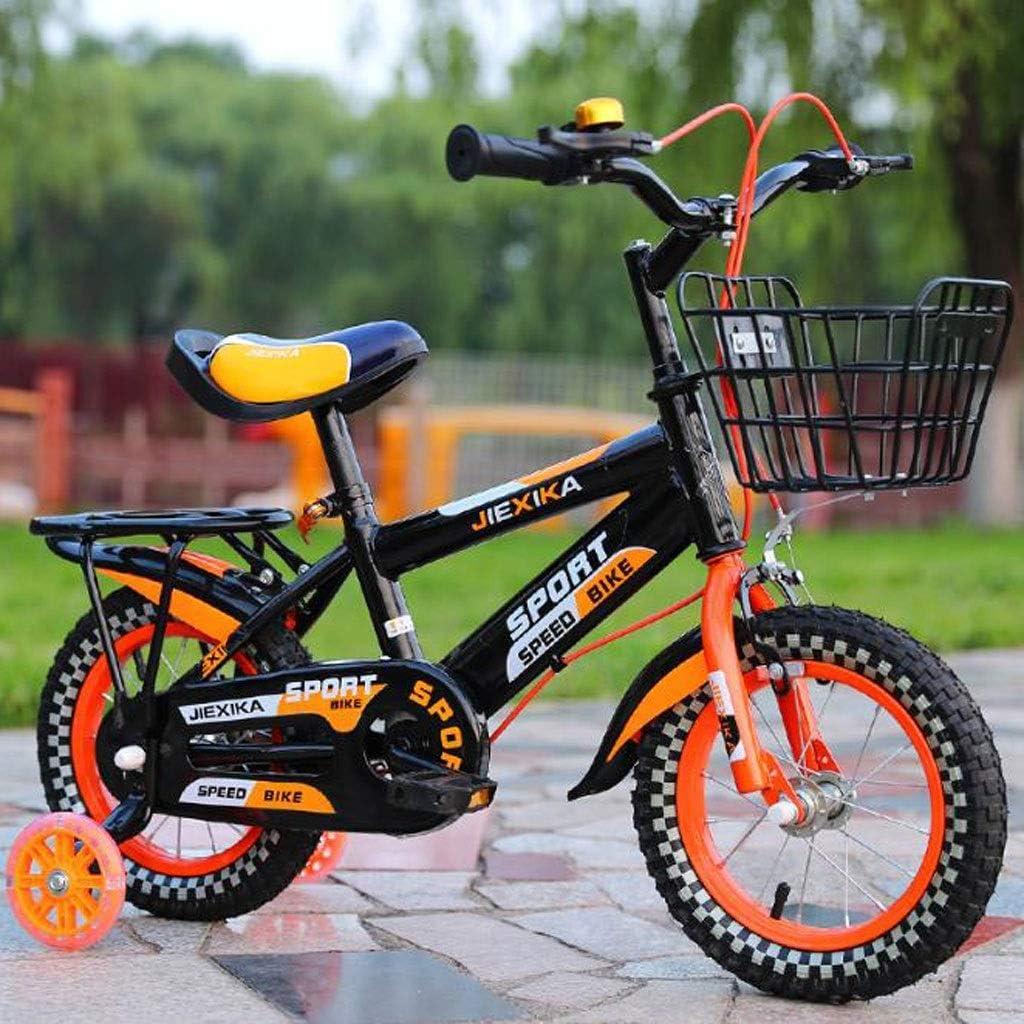 KY Bicicleta niños Balance Bike Niño Bicicleta de Entrenamiento para, Ajustable de Acero Bicicleta de los niños de la Muchacha del Muchacho con Flash Ruedas de 2-11 años: Amazon.es: Deportes y aire