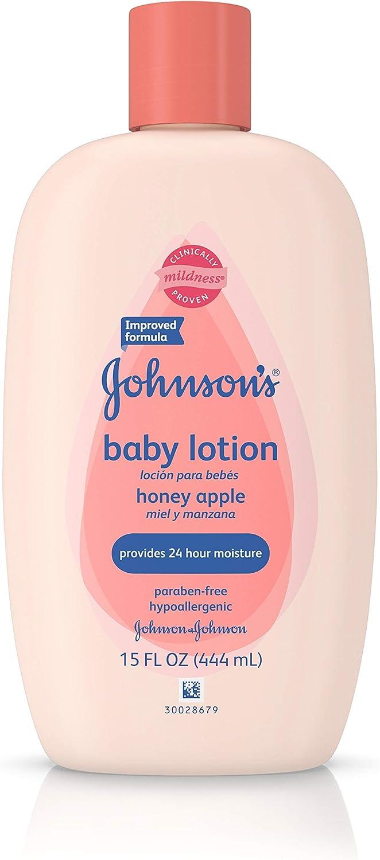 Johnson & Johnson Baby Honey Apple Lotion - 15 oz