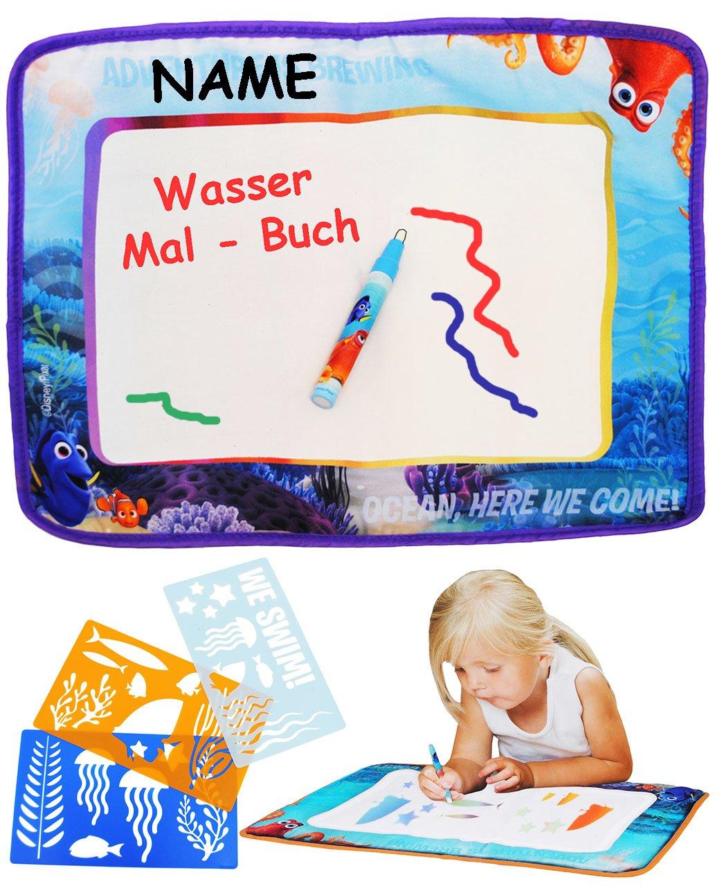 alles-meine.de GmbH XL Wasser - Malbuch / Malmatte - Disney - Findet ...