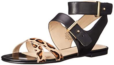 f77e7d348aaf2 Nine West Women s DARCELLE Leather Dress Sandal