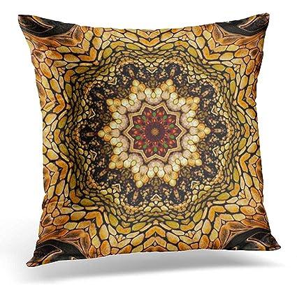Earth Tone Throw Pillows.Amazon Com Throw Pillow Cover Exotic Artful Eye Africa