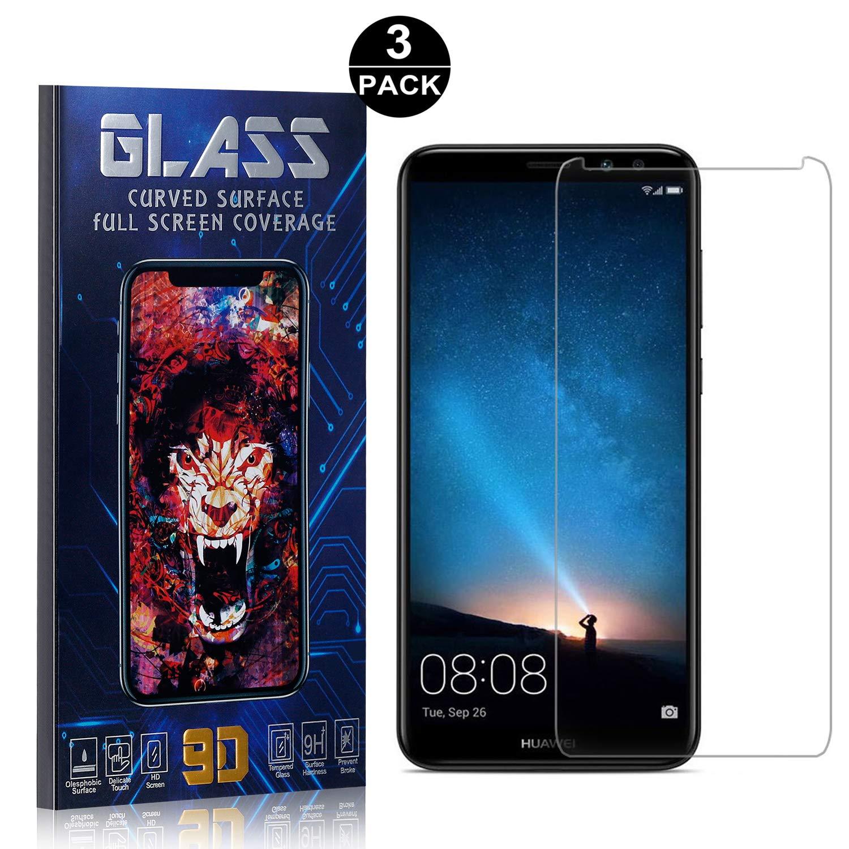Bear Village/® Displayschutzfolie f/ür Huawei Mate 10 Lite HD Panzerglasfolie mit 3D Touch 3 St/ück 9H H/ärtegrad Schutzfilm aus Geh/ärtetem Glas f/ür Huawei Mate 10 Lite