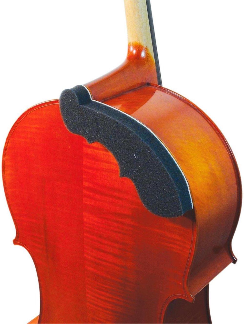 AcoustaGrip 'First Chair' Charcoal Cello Pad   B00KJ1826E