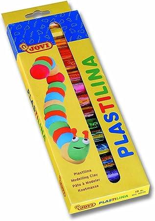 Caja 15 barras plastilina colores surtidos Jovi by Jovi: Amazon.es: Juguetes y juegos