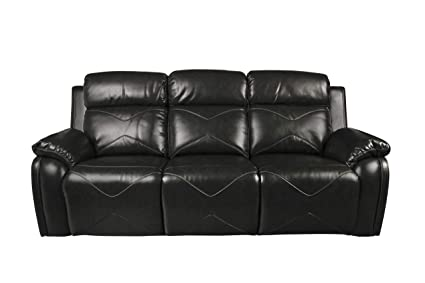Amazon.com: New Classic 22-2320-PH-EBY Vigo Loveseat, Ebony ...