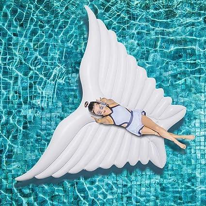 Amazon.com: BSTOOL Flotador de alas hinchables para piscina ...