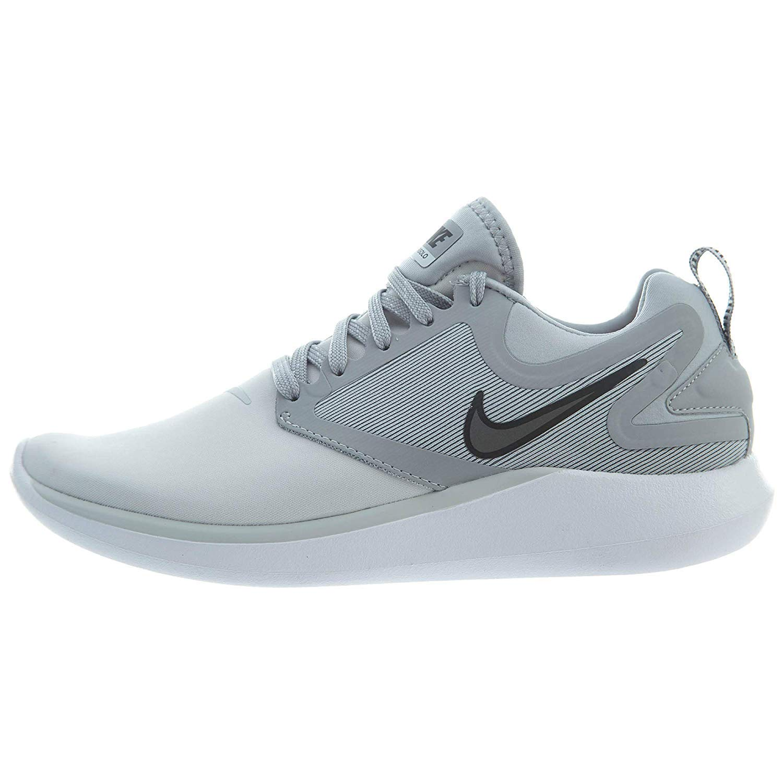 f55eb09422df Galleon - Nike Men s Lunarsolo Grey Running Training Shoes (9.5 ...