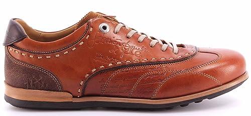 La Martina Herren Sneakers Schuhe L3040160 Cuero Ambra