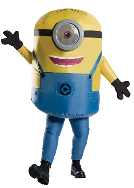 Rubies Adult Inflatable Minion Stuart Costume