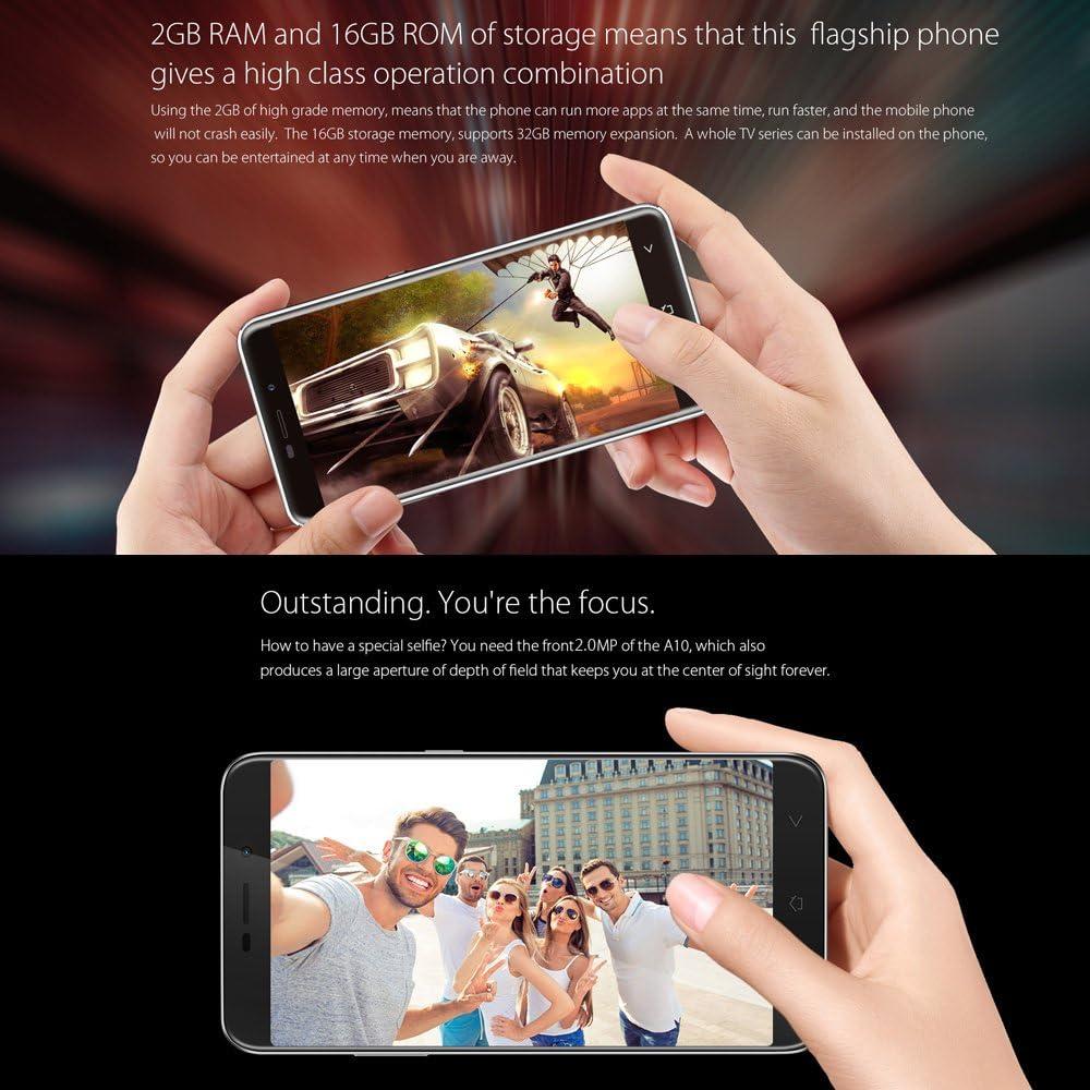 Blackview A10 Smartphone 3G WCDMA MTK6580A Quad Core 1.3GHz ...
