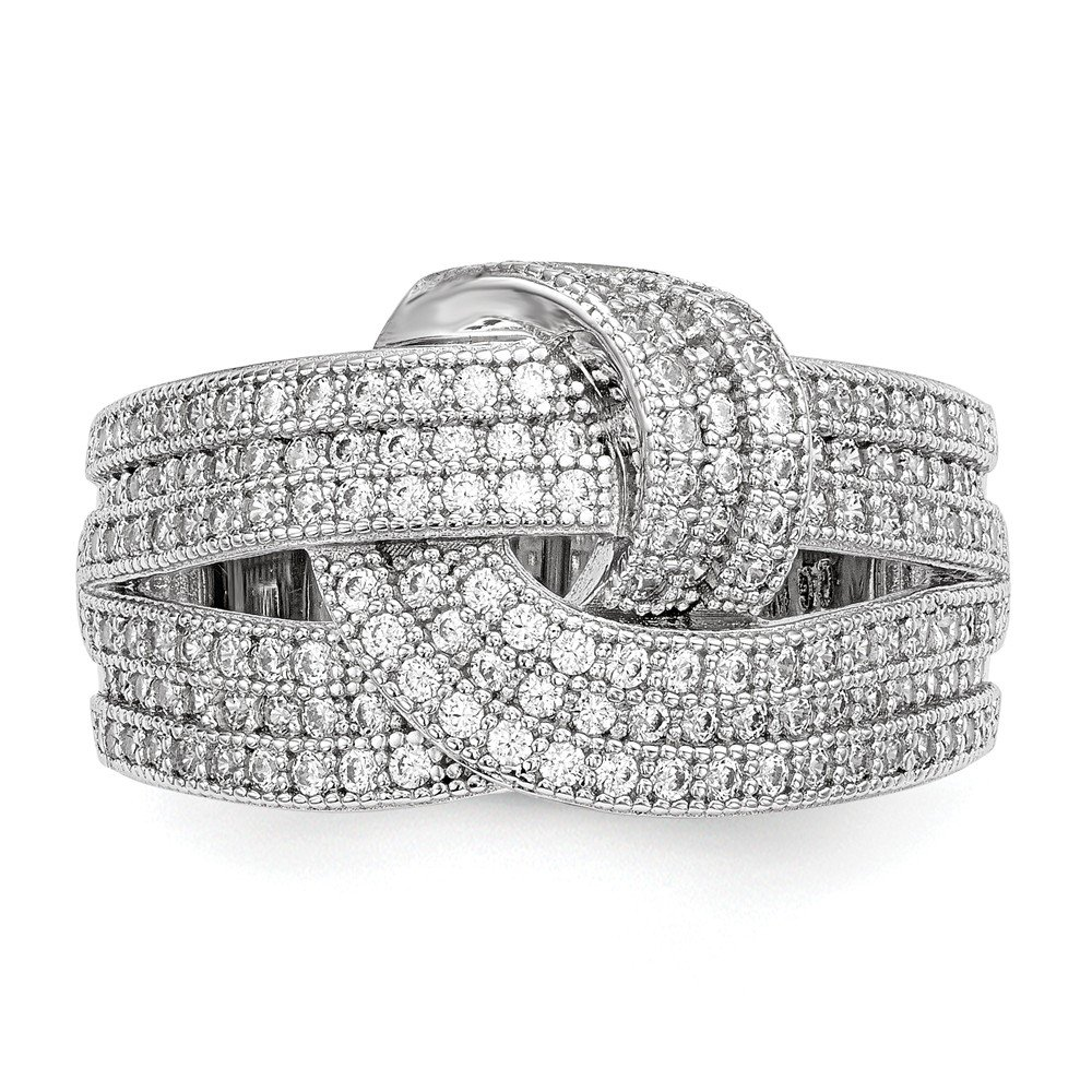 Diamond2Deal 925 Sterling Silver 12mm Wedding Band Ring Fine Jewelry Ideal Gifts for Women