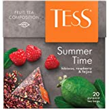 Tess, Summer Time - Hibiscus, Rosehip, Strawberry, 20 Sobres