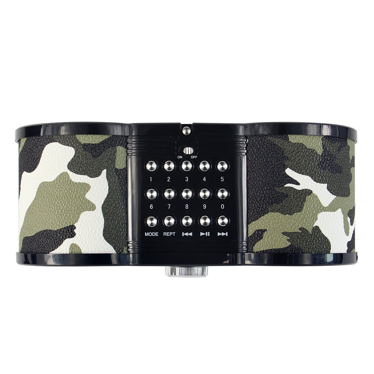 TIVDIO V-113 Portable Transistor FM Stereo Radio Support Mp3 Music Player Speaker Micro SD IF Card Aux Line In Remote(Camouflage) by TIVDIO (Image #5)