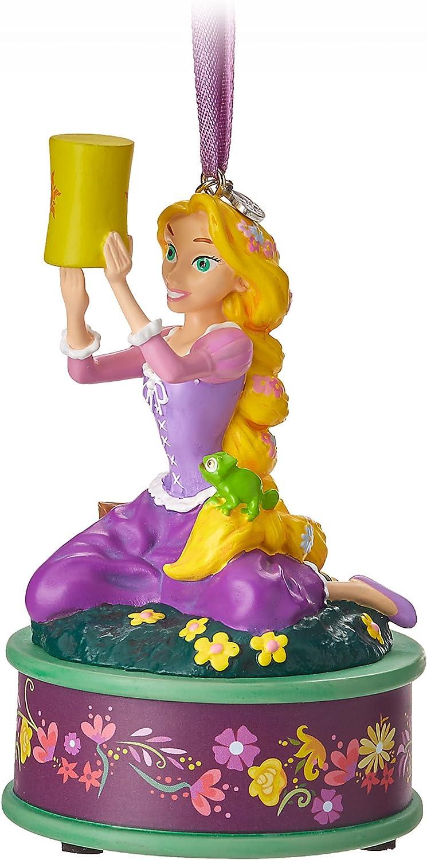 Neuf Disney Magasin Raiponce Chantant Musical Carnet Croquis Figurine Ornement