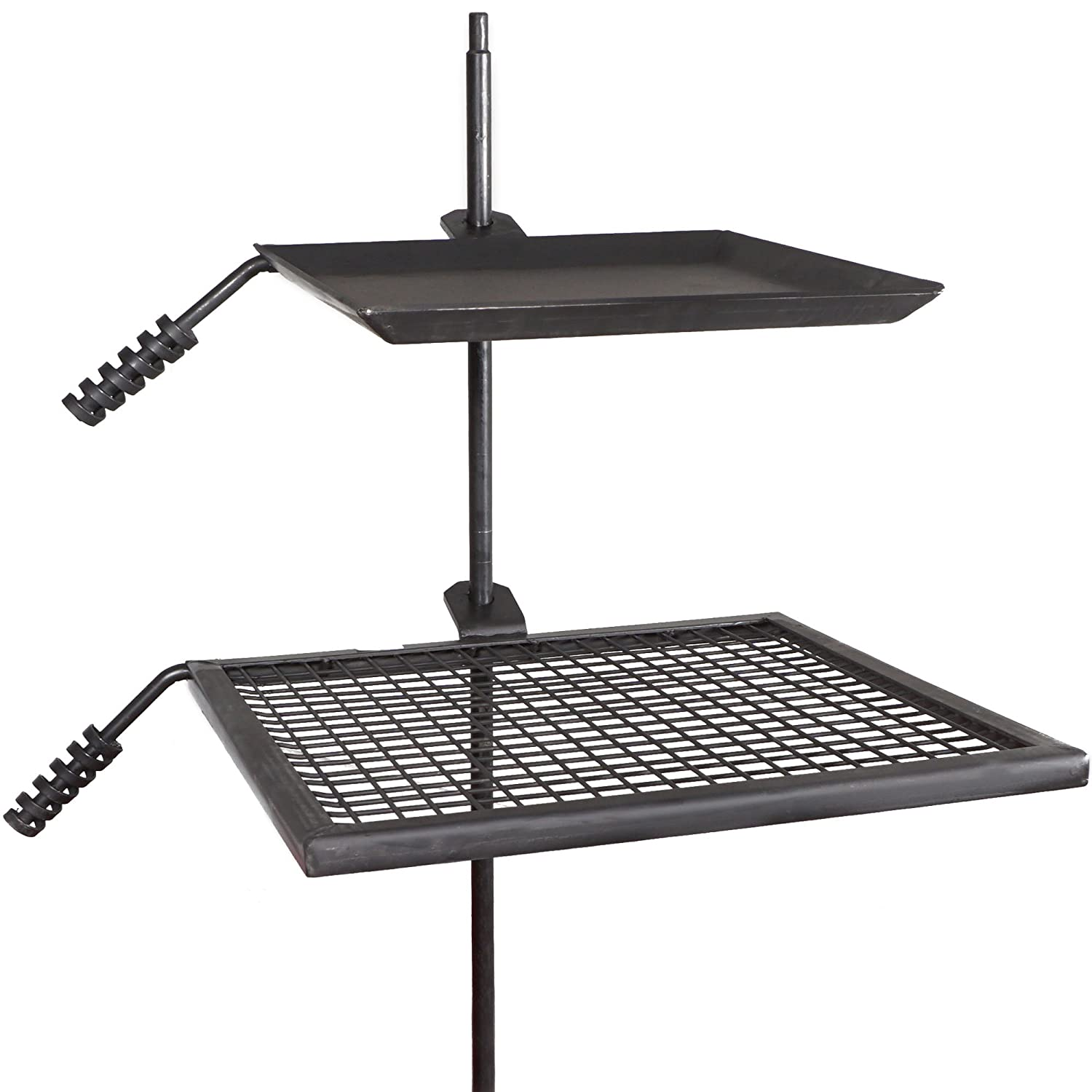 Amazon.com : Titan Campfire Adjustable Swivel Grill Cooking Grate Griddle  40