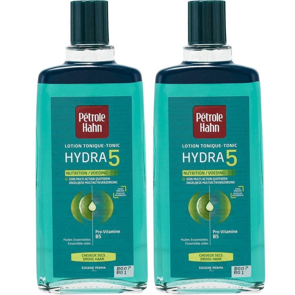 """Pétrole Hahn - Lozione tonica """"Hydra 5Nutrition& rdquo,nutre i capelli secchi, set di 2 flaconcini da 300ml Petrole Hahn"""