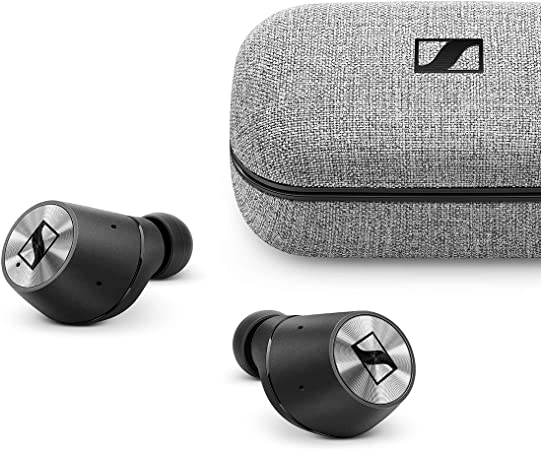 Sennheiser  MOMENTUM True Wireless  - Auriculares intraurales inalámbricos  con control táctil, audición transparente y estuche de carga