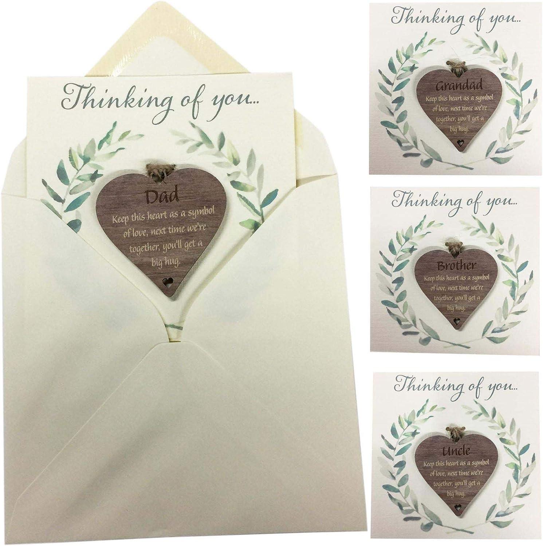 personalised great grandma heart birthday christmas gift token keepsake present