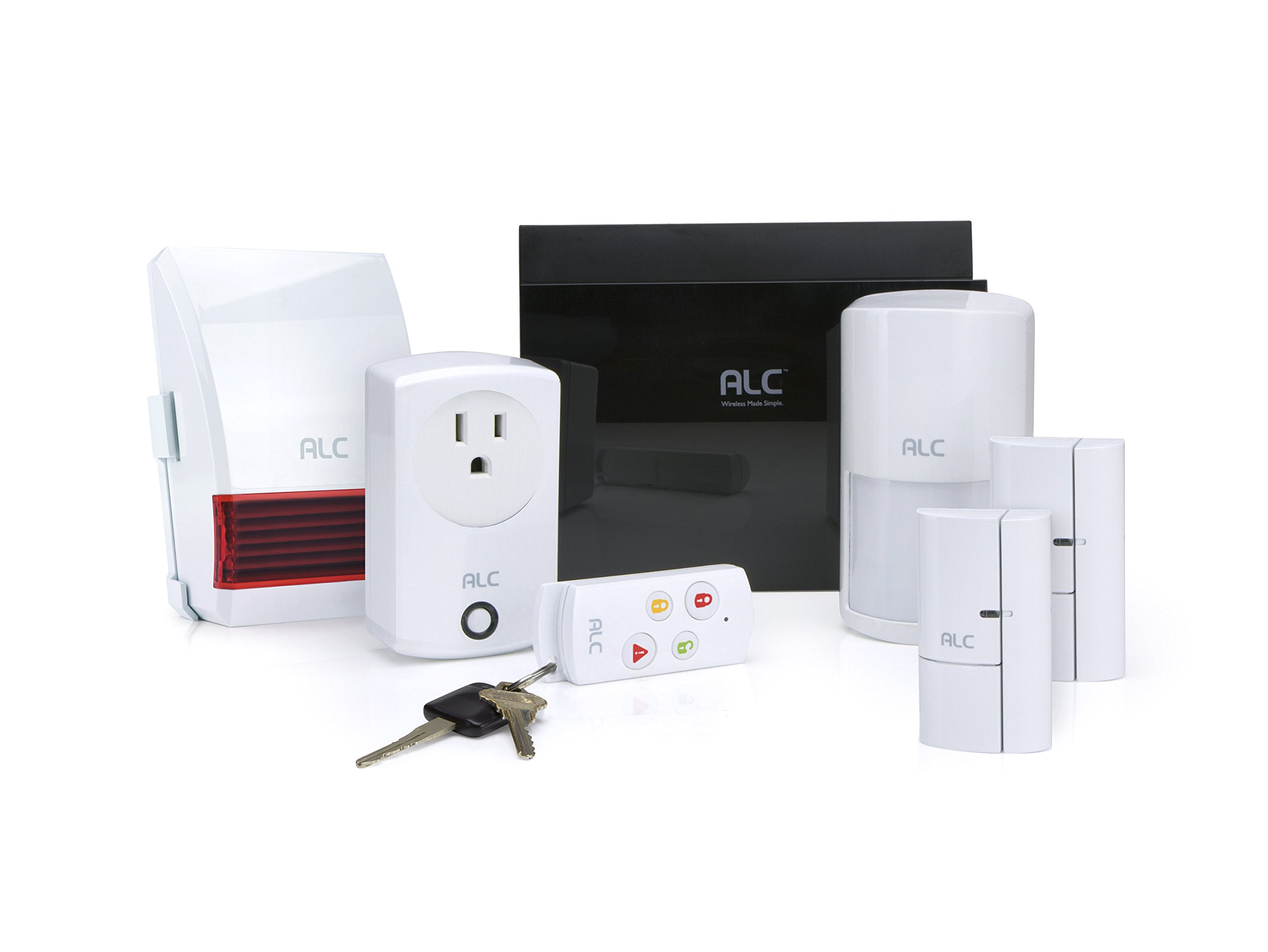 ALC AHS616 Connect Home Wireless Security System DIY Self Monitoring System using the ALC Connect App on your Android or Apple (iOS) Phone or Tablet by ALC