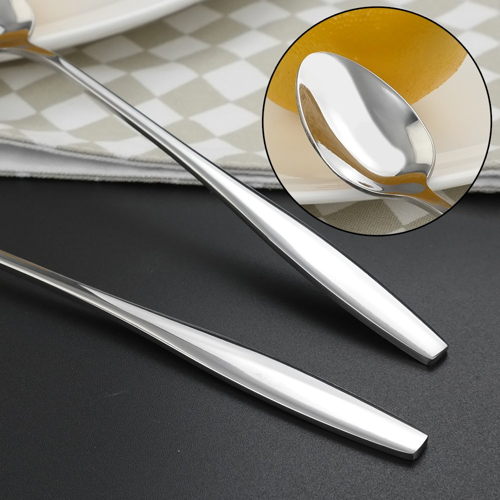 Service for 10 Ggbin 50-Piece Stainless Steel Flatware Silverware Set