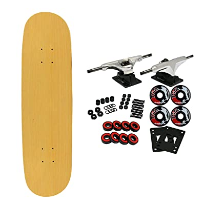"BLANK COMPLETE Skateboard NATURAL 7.75"" Skateboards : Standard Skateboards : Sports & Outdoors"