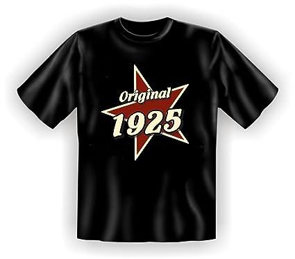 T-Shirt als lustiges Geschenk zum 90. Geburtstag für Jahrgang 1925 -  Geburtstagsgeschenk mit