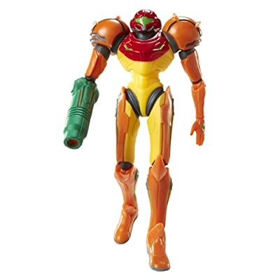 "World of Nintendo 4"" Samus [Metroid] Figure with Mystery Accessory: Toys & Games"