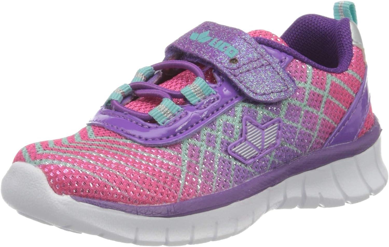 Lico Lenja Vs, Zapatillas de Marcha Nórdica para Niñas, Morado (Lila/Pink/Türkis Lila/Pink/Türkis), 25 EU: Amazon.es: Zapatos y complementos