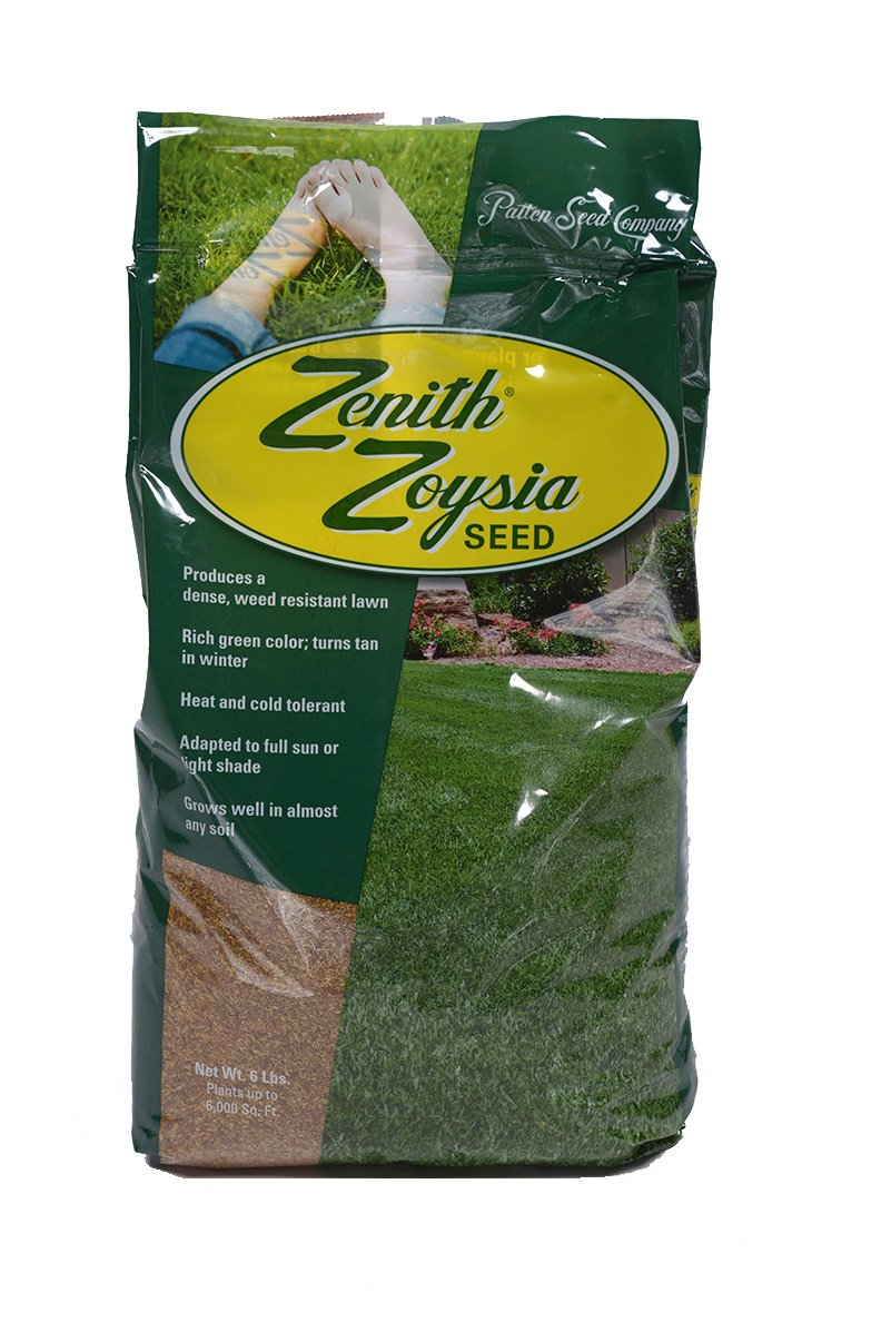Zenith Zoysia Grass Seed (6 Lb.) 100% Pure Seed by Patten Seed Company