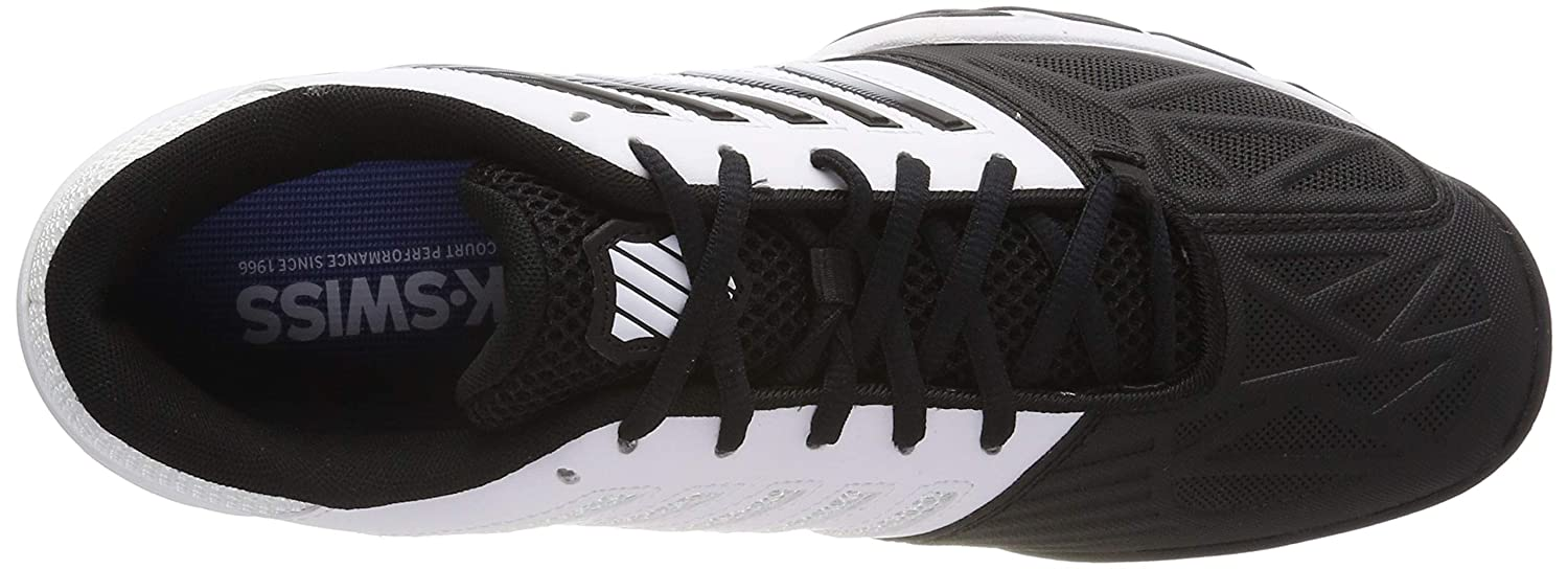 K-Swiss Performance Bigshot Light 3, Zapatillas de Tenis para Hombre, Blanco (White/Black 129M), 50 EU: Amazon.es: Zapatos y complementos