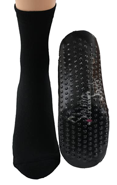 Shimasocks Calcetines Zapatos Calcetines De Estar por casa Zapatillas de fieltro ABS Negro - Negro,