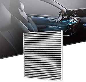 KAFEEK Cabin Air Filter Fits CF10709, 08790-2E200, 971332E200, 2SF79AQ000, 971292E200, Replacement for Hyundai/KIA, includes Activated Carbon