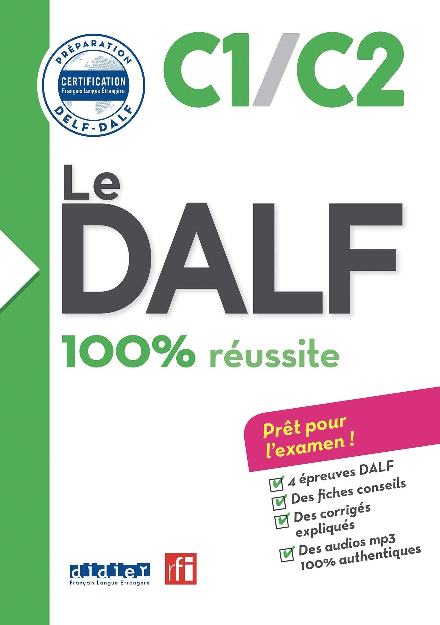 Le DALF  C1 C2   Buch Mit MP3 CD