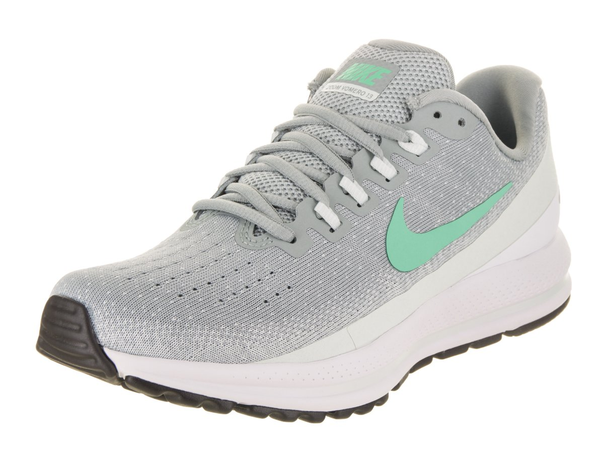 Nike Women's Air Zoom Vomero 13 Running Shoe Light Pumice/Green Glow-Barely Grey 6.0