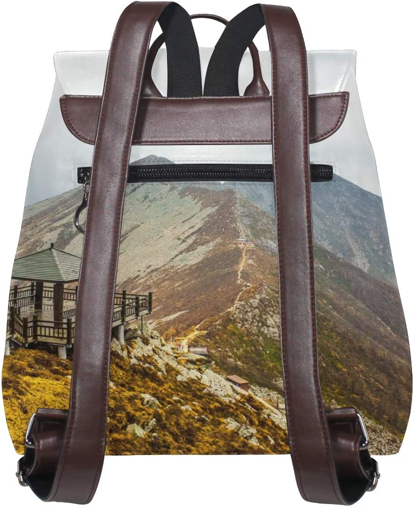 Backpack Travel Bag Storage Bag For Men Women Girls Boys Personalized Pattern Taibai Mountain Shopping Bag School Bag