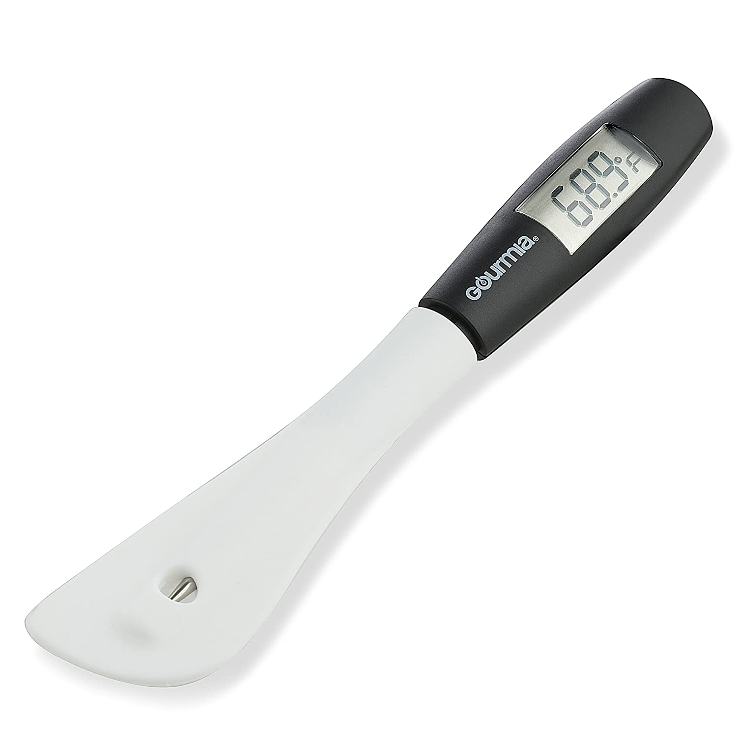 Gourmia GTH9180 Digital Spatula Thermometer Cooking & Candy Temperature Reader & Stirrer in