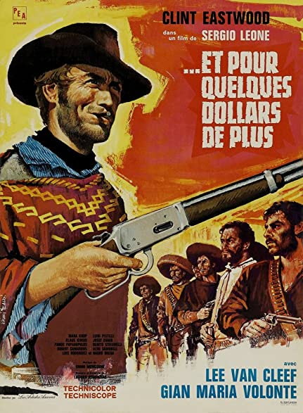 Image result for for a few dollars more movie poster amazon