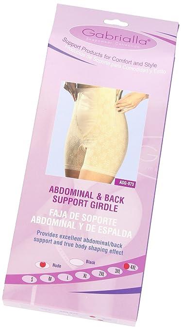 e03772419e Amazon.com  GABRIALLA ASG-973 Abdominal   Back Support Girdle (Large)   Health   Personal Care