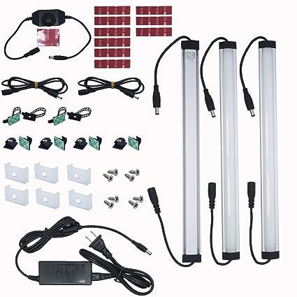 Litever kitchen under cabinet led lighting kits 3 pcs 1 feet super litever kitchen under cabinet led lighting kits3 pcs 1 feet super bright led light aloadofball Choice Image