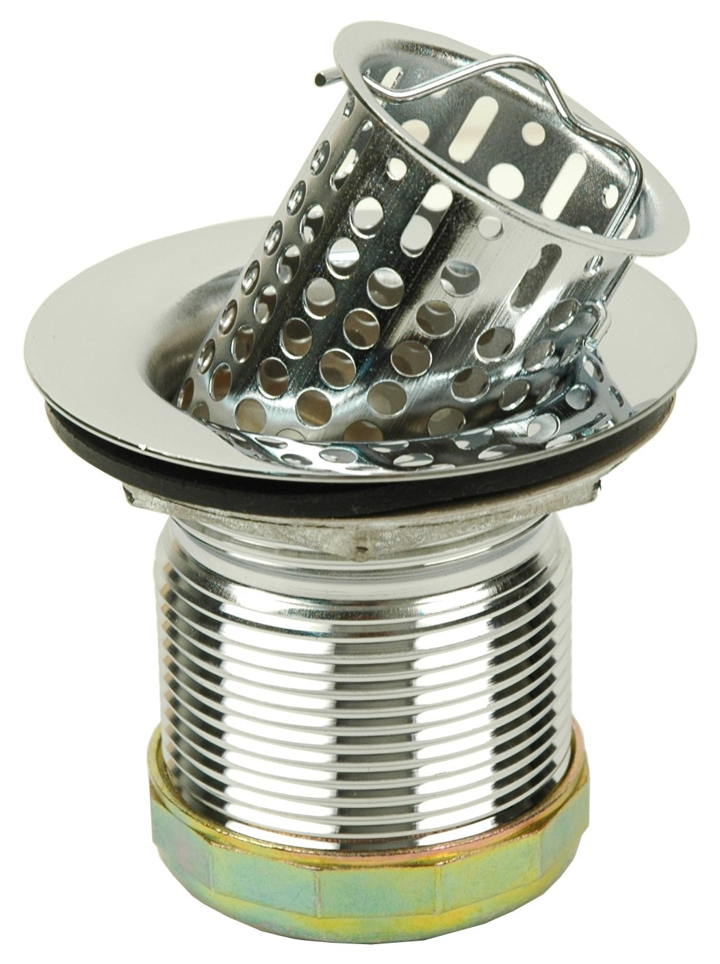 Deep Cup Bar Sink Strainer - By Plumb USA