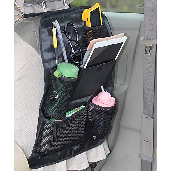 Amazon.com: F-blue Multi-pocket Seat Back Storage Bags Car Organizer Travel Bag for Cellphone Umbrella Pen: Cell Phones & Accessories