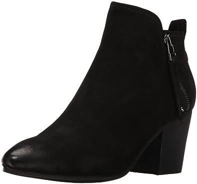 072c0b7c30 Amazon.com | Steve Madden Women's Julius Ankle Bootie, Black Leather ...