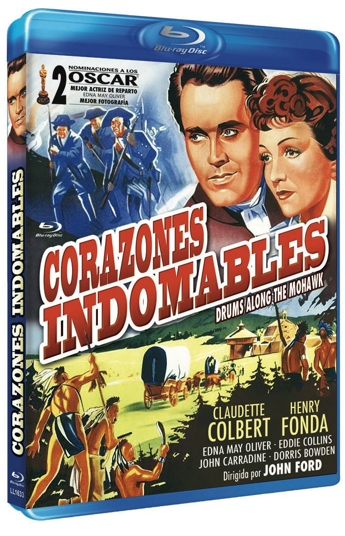 Drums Along the Mohawk (CORAZONES INDOMABLES BRD) - Audio: English, Spanish - Regions 2