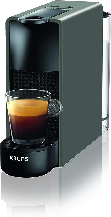 Nespresso Krups Essenza Mini XN110B - Cafetera monodosis de cápsulas Nespresso, compacta, 19 bares, apagado ...