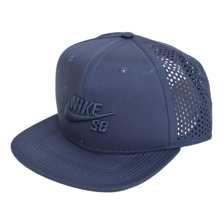 4a8897e8511 NIKE Mens SB Performance Trucker Snapback Hat Obsidian Black  Amazon.ca   Sports   Outdoors